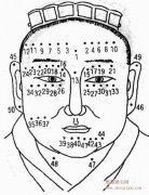 男人痣相图解,从男人面部痣相能看出什么?
